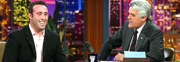 Adam Mesh on The Tonight Show w/ Jay Leno